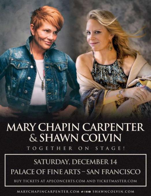 Mary Chapin Carpenter & Shawn Colvin at Ryman Auditorium