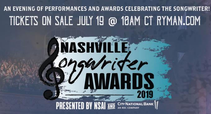 Nashville Songwriter Awards: Dierks Bentley, Sam Hunt & Reba McEntire at Ryman Auditorium