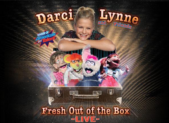 Darci Lynne at Ryman Auditorium