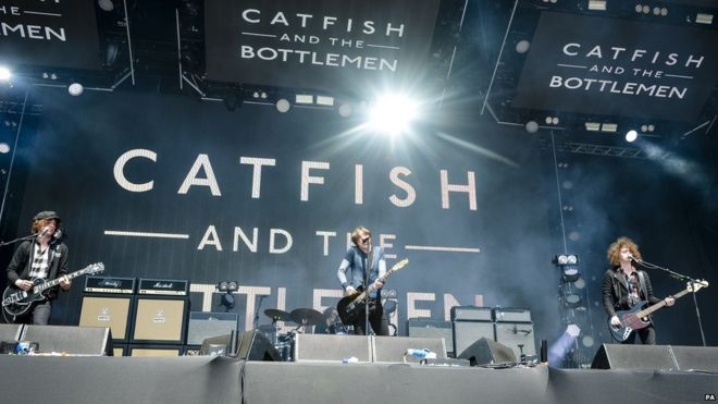 Catfish And The Bottlemen at Ryman Auditorium