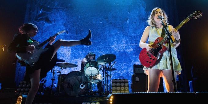 Sleater-Kinney at Ryman Auditorium