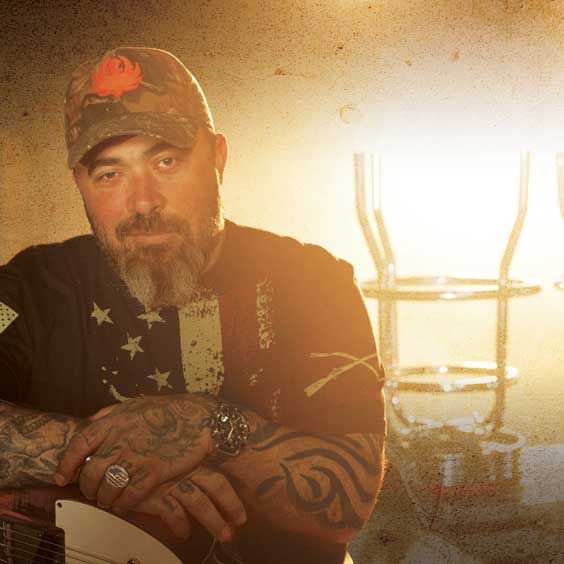 Aaron Lewis at Ryman Auditorium
