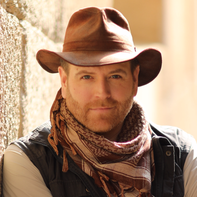 Josh Gates at Ryman Auditorium