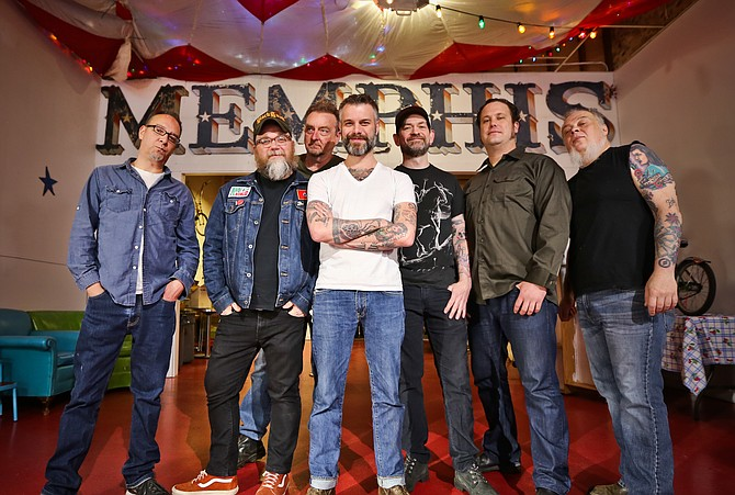 Lucero - The Band at Ryman Auditorium