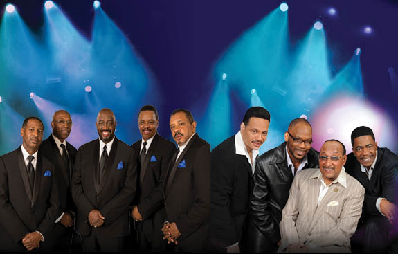 The Temptations & The Four Tops at Ryman Auditorium