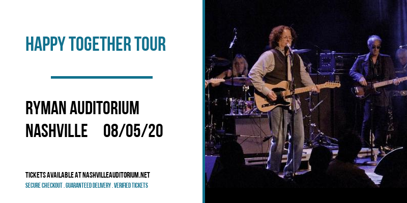 Happy Together Tour at Ryman Auditorium