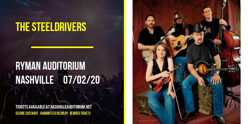 The Steeldrivers [POSTPONED] at Ryman Auditorium