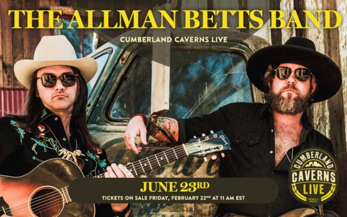 The Allman Betts Band at Ryman Auditorium