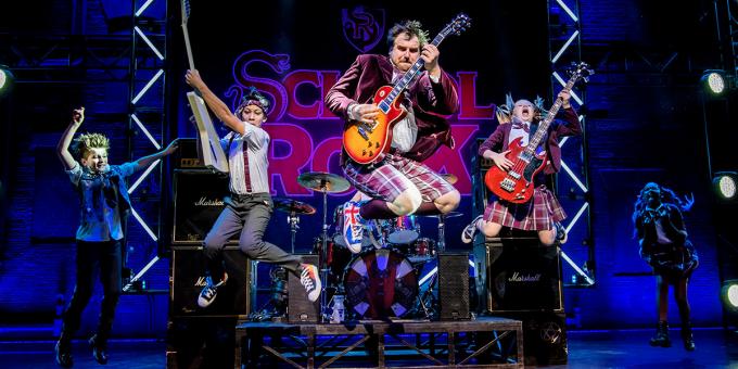 School of Rock at Ryman Auditorium