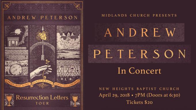 Andrew Peterson at Ryman Auditorium