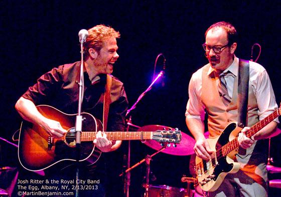 Josh Ritter & The Royal City Band at Ryman Auditorium