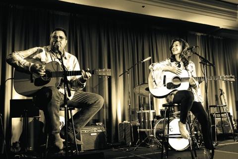 Amy Grant & Vince Gill at Ryman Auditorium