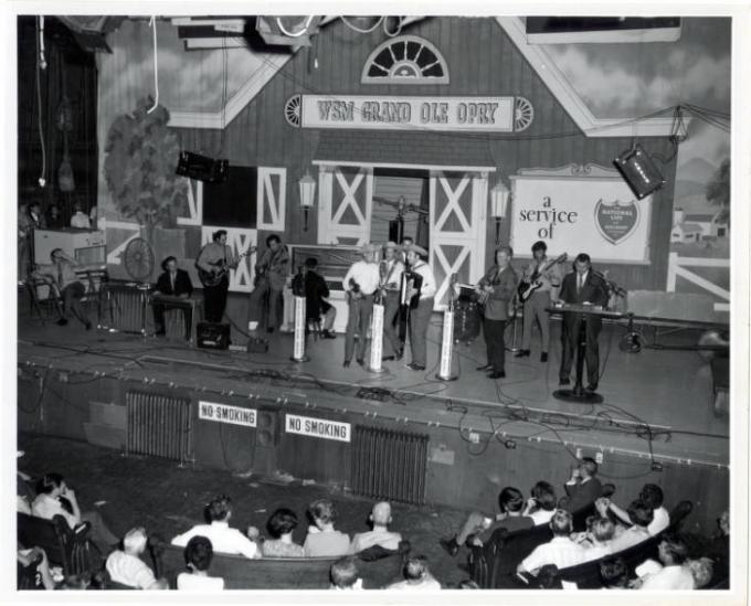 Opry at the Ryman: Gary Burr, Gary Mule Deer, Charlie McCoy, Darin and Brooke Aldridge & T. Graham Brown at Ryman Auditorium