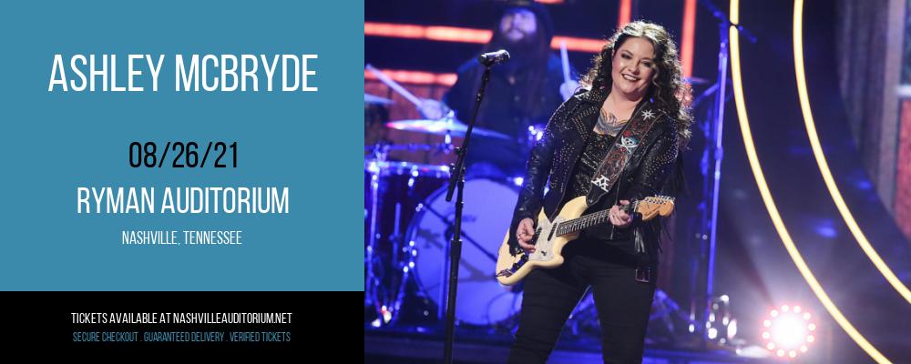 Ashley McBryde at Ryman Auditorium