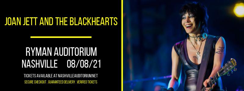 Joan Jett and The Blackhearts at Ryman Auditorium
