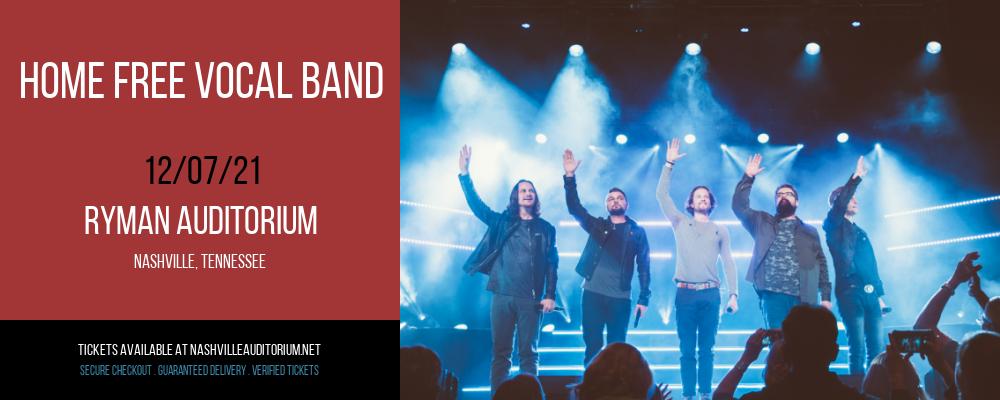 Home Free Vocal Band at Ryman Auditorium