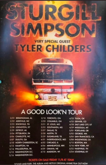 Sturgill Simpson at Ryman Auditorium